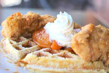 Infusion Bistro chicken and waffles