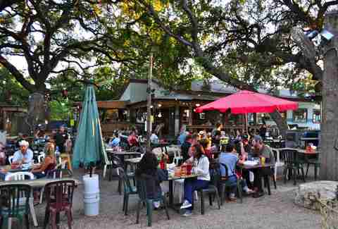 Freddie's Place Outdoor Drinking Guide ATX