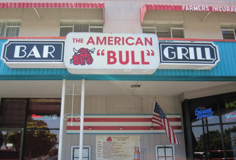 The American Bull Bar & Grill SF