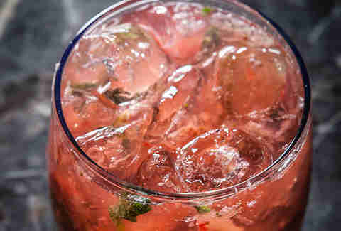 Watermelon julep