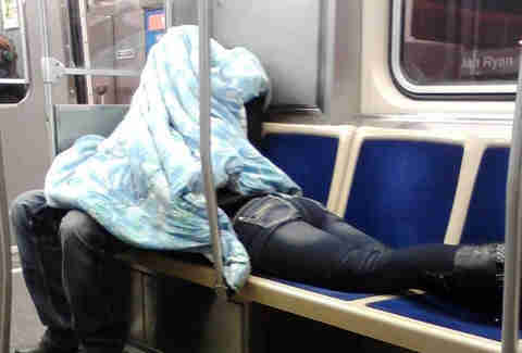 crazy people on the cta