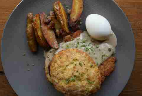 Schnitzel and Biscuits BRONWYN Brunch Picks BOS
