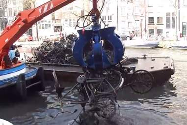 bikes crane