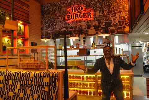 Lance London TKO Burger DC
