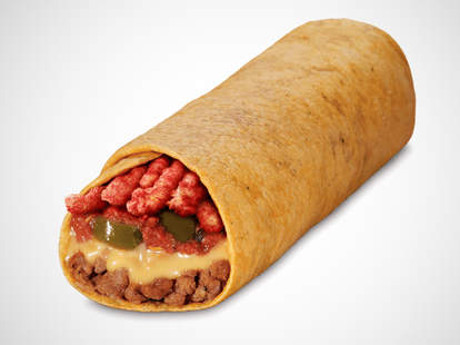 Taco John's Flamin' Hot Cheetos Burrito