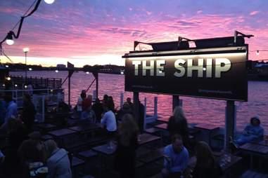 The Ship exterior