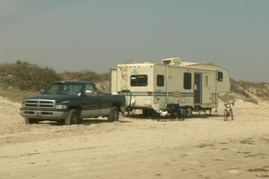 RV Most annoying people on the beach SD