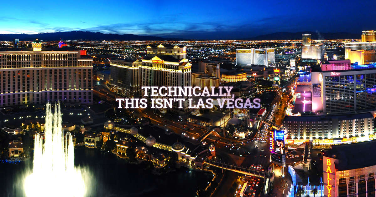 Things you need to explain to tourists about Las Vegas - Thrillist