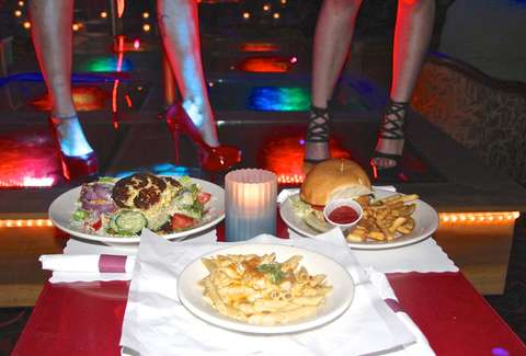 Strip club food review ATX