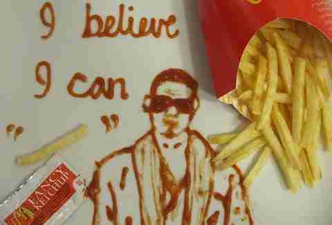 R. Kelly ketchup and fries