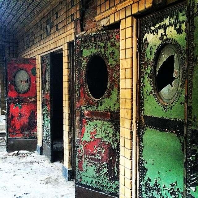 theater doors