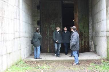 bunker exterior