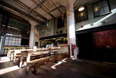 Seating at Smokestack