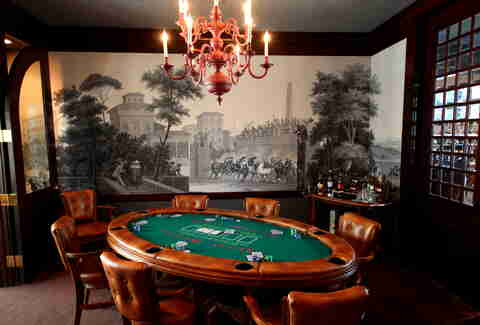 Poker Room at Wingtip