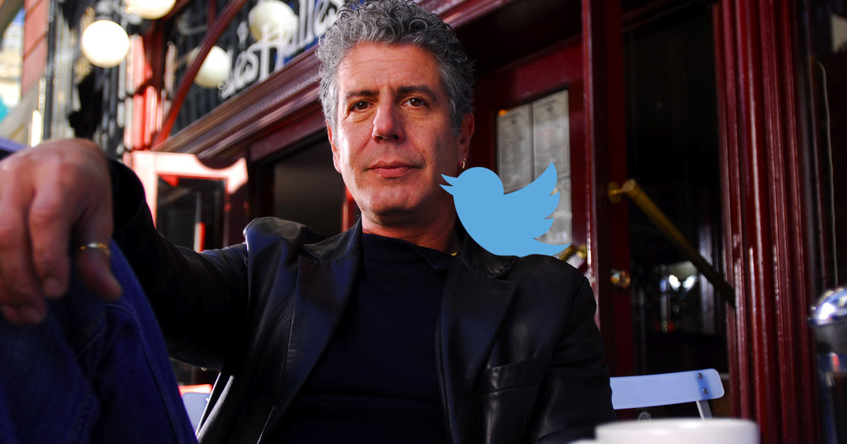 The 8 best Twitter findings from Anthony Bourdain's AMA
