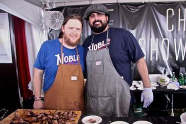 Noble Sandwich Co Food and Wine Festival ATX