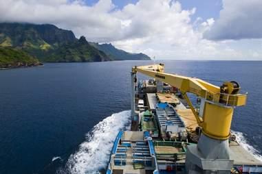 cargo cruise front