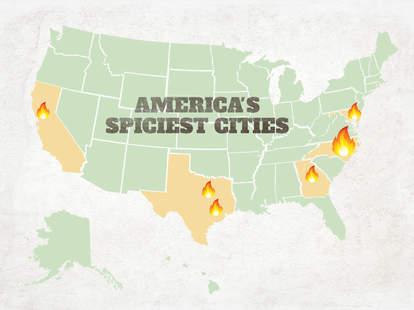 america's spiciest cities