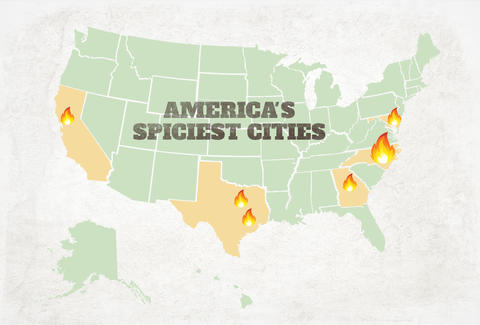 america's spiciest cities