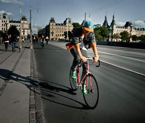 copenhagen cyclist