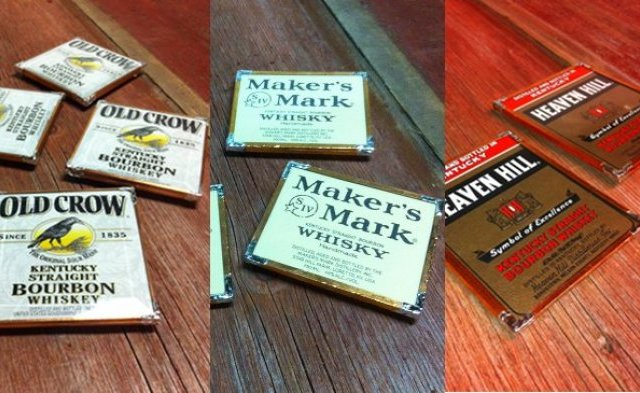Rest your booze on boozy coasters
