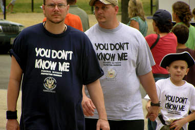 Witness Protection T-shirts Things you have to explain to out-of-towners about DC