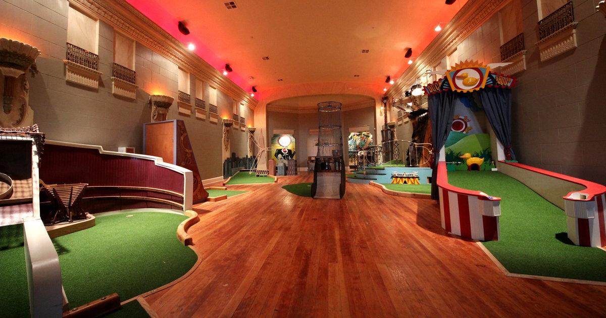 Miniature Golf Mission Bars Restaurants Urban Putt SF ...
