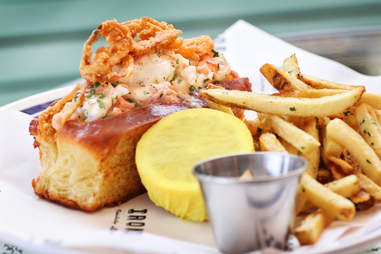 Lobster Roll Ironside Fish & Oyster SD
