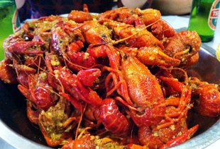 Crawfish & Noodles
