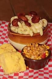 Diablos BBQ mac and cheese