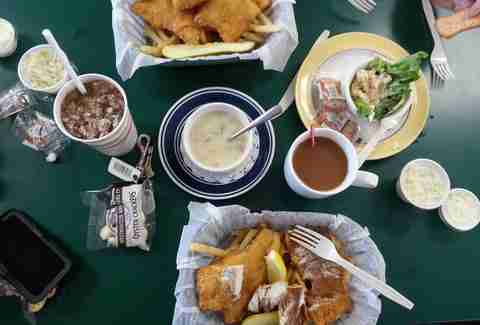 Brown Fisheries Fish House Best Michigan Restaurants outside DET
