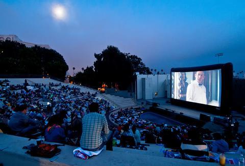 Outdoor Movie LA Calendar 2014 - Every Free Summer Film Los