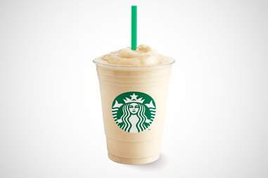 Starbucks Greece banana yogurt frappuccino