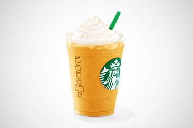 Starbucks Peru Lúcuma Crème frappuccino