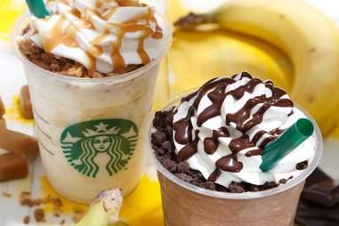 Starbucks Japan banana frappuccinos