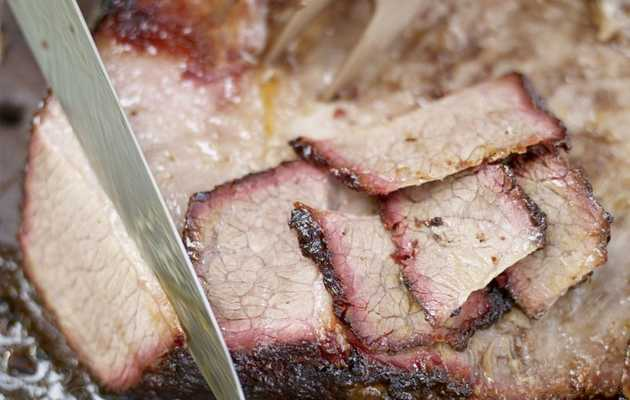 "Serious Barbecue Cookbook: ""Get A Book"" Whole Beef Brisket Recipe"