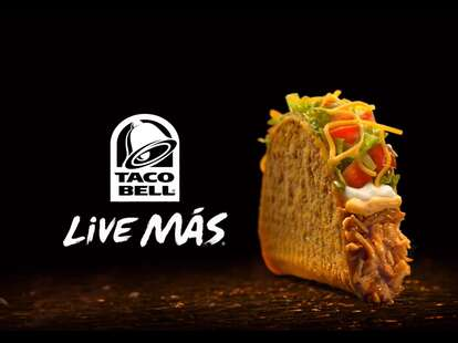 Taco Bell Spicy Chicken Cool Ranch Doritos Locos Tacos