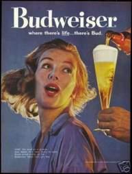 1960s Budweiser ad