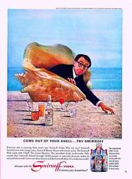 1960s Woody Allen Smirnoff ad