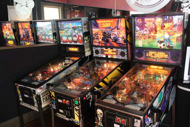 PInball at Moby Dick's