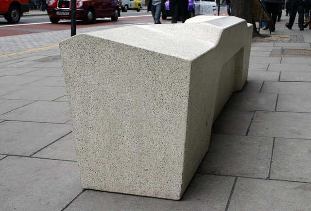 Is this the perfect public bench?