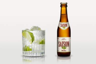 gin and tonic/st. feuillien saison