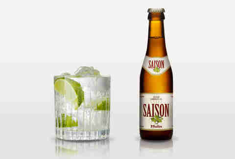 gin and tonic/st. feuillien saison