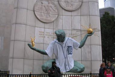 Spirit of Detroit Things Detroiters Love DET