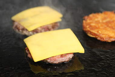 Cheese on Bluestem's Brunch Burger