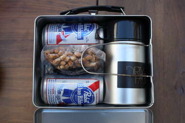 Lunch box at Dirty Habit