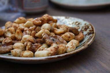 Bar nuts at Dirty Habit