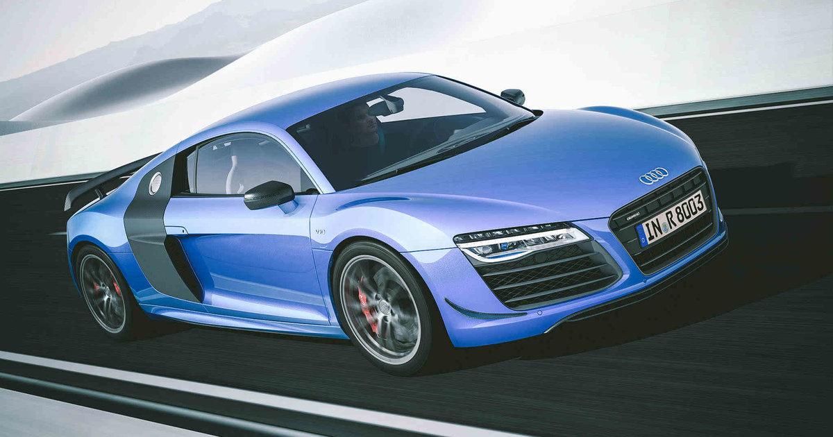 The 2015 Audi R8 LMX Has 570 hp and Frickin' Laser Beam Leadlights - Thrillist