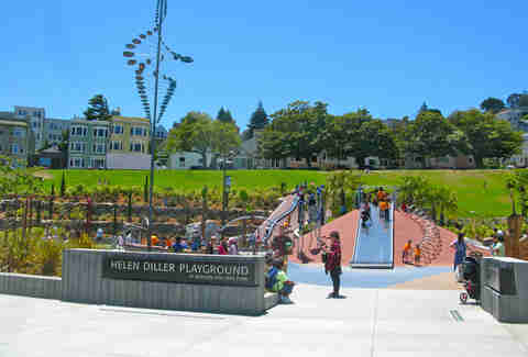 Playground at Dolores Park