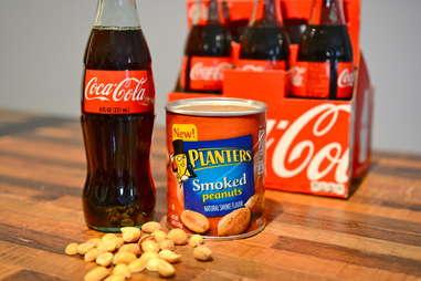 peanuts and Coke